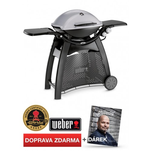 WEBER Q 3000, Granite Grey (šedý)