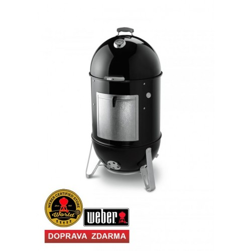 Weber SMOKEY MOUNTAIN COOKER 47 cm, Black (černý)