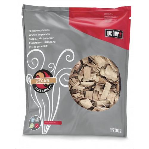 Udící lupínky Fire Spice Chips pekanový ořech