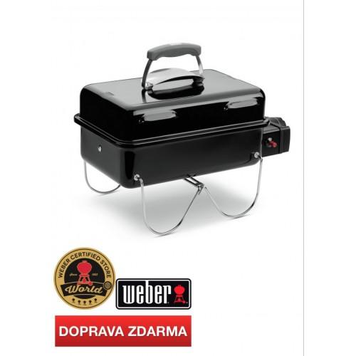 WEBER Go-Anywhere plynový 30mB, Black (černý)