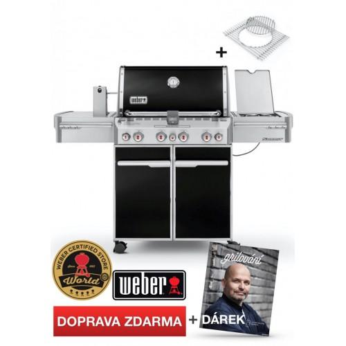 WEBER Summit E-470 GBS, Black (černý)