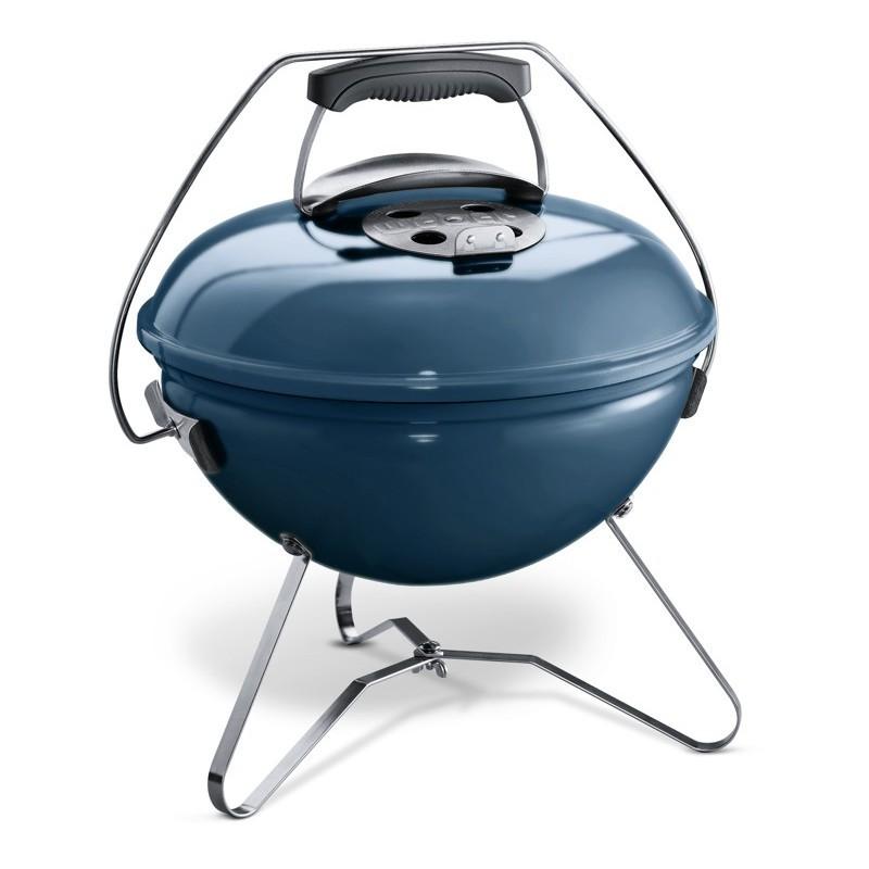 Weber Smokey Joe Premium 37 cm, Slate Blue (břidlicově modrý)