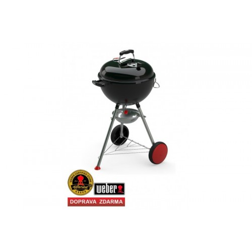 Weber Kettle Plus, 47 cm, Black (černý)